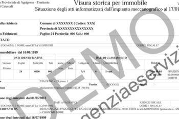 Servizi immobiliari roma studio tecnico roma pratiche di for Visura storica catastale