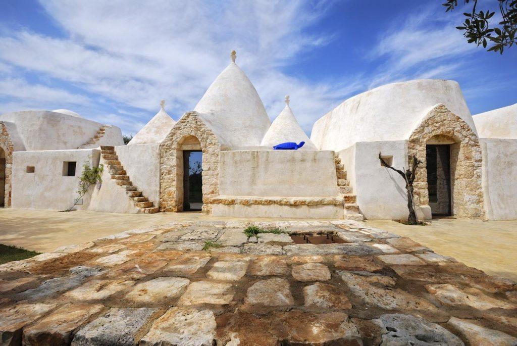 Il trullo, struttura in pietra a secco