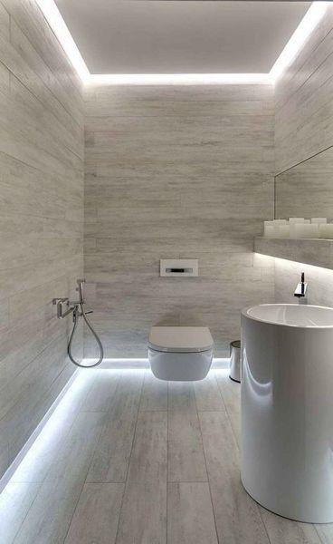 Illuminazione di un bagno cieco