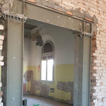 Le cerchiature metalliche negli edifici in muratura