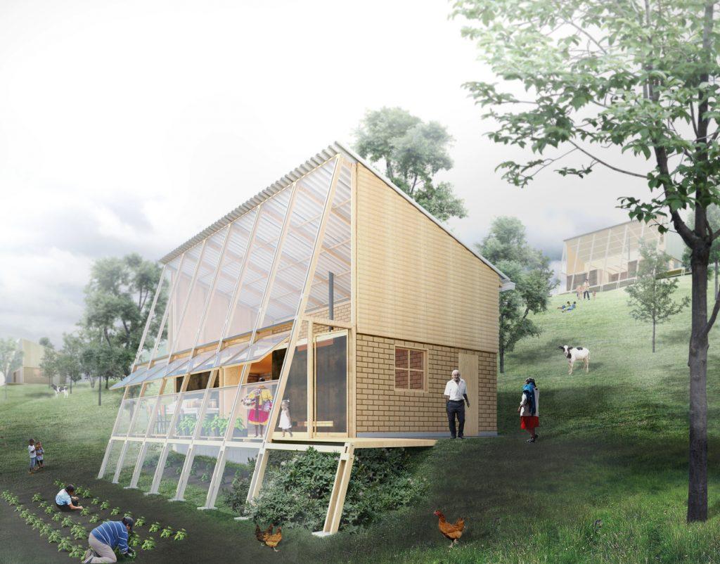 Prototipo di edilizia rurale studio FP Arquitectura